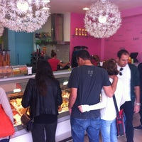 Photo taken at Heladeria Fior di Latte by Nan P. on 4/28/2013
