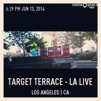 Photo taken at Target Terrace at The Grammy Museum by Michael D. on 6/14/2014