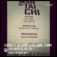 Photo taken at Charles Aidikoff Screening Room by Michael D. on 10/22/2013
