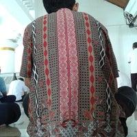 Photo taken at Mesjid  angkasa pura II by qhomier on 7/25/2014