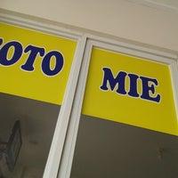 Photo taken at Soto Mie Asli Bogor PENUIN by qhomier on 6/1/2014