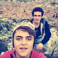 Photo taken at Yunt dağı by Ozan B. on 12/21/2014