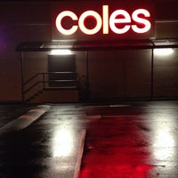 Photo taken at Coles by Tim L. on 7/4/2014