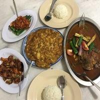 Photo taken at Aunty Lee Baba Nyonya Restaurant by Nina on 3/4/2018