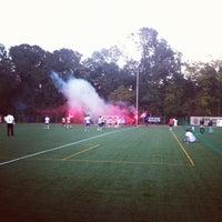 "Photo taken at Stadionul Național de Rugby ""Arcul de Triumf"" by Pandutzu on 9/28/2013"