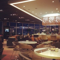 Photo taken at Malaysia Airlines Golden Lounge by Niki C. on 3/29/2013