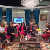 Photo taken at NTV7 Studio 7 by Niki C. on 8/31/2015