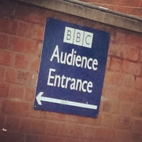 Photo taken at BBC Television Centre by Niki C. on 10/4/2012