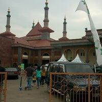 Photo taken at Masjid Raya At Taqwa Kota Cirebon by Mita J. on 8/5/2013