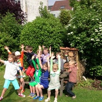 Photo taken at Jenaplanschool De Feniks by Laurens V. on 6/9/2013