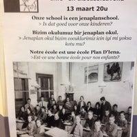 Photo taken at Jenaplanschool De Feniks by Laurens V. on 3/12/2014