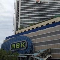 Photo taken at MBK Center by Taka O. on 7/10/2013