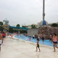 Photo taken at Haginaka Park Swimming Pool by Taka O. on 8/14/2014