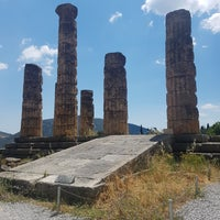 Photo taken at Temple of Apollo by Meltem H. on 6/13/2017