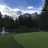 Photo taken at Canmore Golf & Curling Club by Mark K. on 9/19/2016