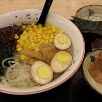 Photo taken at Hokkai Ramen 北海拉麵屋 by Jade F. on 1/12/2014