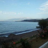 Photo taken at Tarandella Beach by Giorgos T. on 5/6/2013