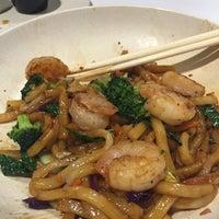 Photo taken at Oki Momo Asian Grill by Brandon K. on 4/6/2016