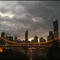 Photo taken at Story Bridge by Peter B. on 11/18/2012