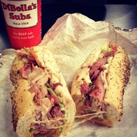 Photo taken at DiBella's Old Fashioned Submarines by elena l. on 12/29/2012