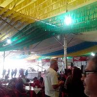 Photo taken at Festa Do Biscoito de Poçinhos do Rio Verde by Patricia V. on 7/19/2014