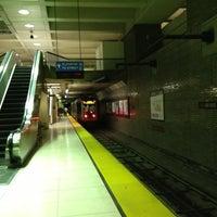 Photo taken at Van Ness MUNI Metro Station by Natalie B. on 7/18/2013