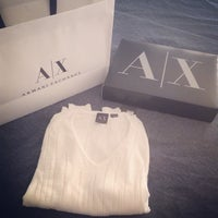 Photo taken at Armani Exchange by Aqua J. on 7/11/2014