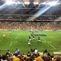 Photo taken at Suncorp Stadium by chris c. on 9/8/2013