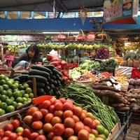 Photo taken at Plaza de Mercado de Paloquemao by Kari G. on 1/5/2013