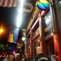 Photo taken at Flaming Saddles Saloon by Christy H. on 6/15/2013