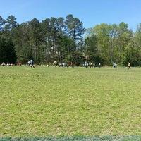 Photo taken at Preston Soccer Fields by Christy H. on 4/13/2013