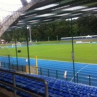 Photo taken at Stade Fallonstadion by Serge C. on 9/21/2013