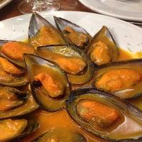Photo taken at Carlos Tartiere Restaurante Sidrería by Roberto N. on 7/27/2015