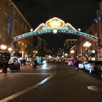 ... Photo Taken At Gaslamp Quarter Sign By Kamil S. On 2/13/2018 ...
