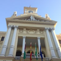 Photo taken at Málaga City Hall by Marivi R. on 5/31/2013