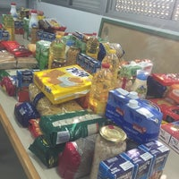 Photo taken at Banco de Alimentos de Ciudad Jardín by Marivi R. on 10/21/2014