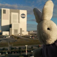 Photo taken at Kennedy Space Center Vehicle Assembly Tour by @jenvargas . on 12/3/2014