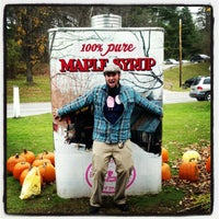 Photo taken at Maple Grove Farms by Derrick B. on 10/16/2012