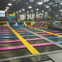 Photo taken at Bounce Inc by Sa3ad A. on 3/12/2016