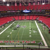 Photo taken at Georgia Dome by Marlon S. on 1/20/2013