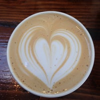 Photo taken at Andante Coffee Roasters by Eve L. on 1/19/2015