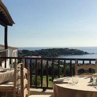 Photo taken at Hotel Romazzino, Costa Smeralda by Catherina J. on 9/15/2015