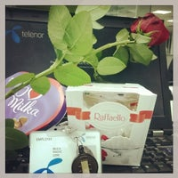 Photo taken at Telenor Serbia Intro Center by Milica P. on 2/14/2014
