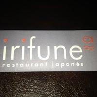 Photo taken at Irifune Restaurant Japonés by Santiago C. on 12/4/2012