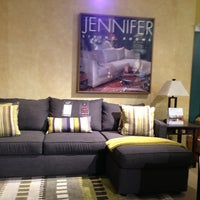 Photo taken at Jennifer Convertibles by Steven B. on 1/6/2013