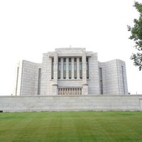 Photo taken at Cardston Alberta Temple by Jerry A. on 8/13/2013