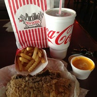 Photo taken at Portillo's Hot Dogs by Eric R. on 6/5/2013