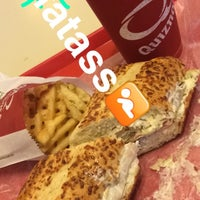 Photo taken at Quiznos Sub by Cesar A. on 5/12/2016