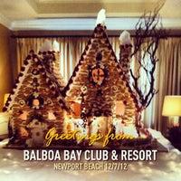 Photo taken at Balboa Bay Resort by Shane K. on 12/7/2012