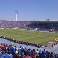 Photo taken at Estadio Nacional Julio Martínez Prádanos by Valentina G. on 5/5/2013